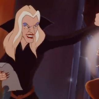 Мультфильм Принцесса лебедь 3. Песня злой королевы